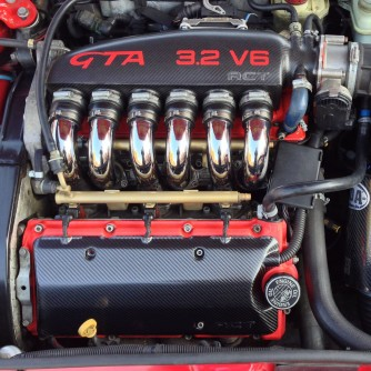 Alfa Romeo carbon fibre