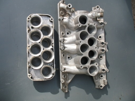 Comparison between standard and enlarged inlet manifold