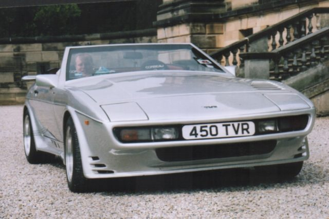 TVR 450 SEAC The first 450 SEAC, 1988 Motor Show car, now owned by Steve Charlesworth and has the full compliment of ACT Induction kit and bespoke exhaust system.