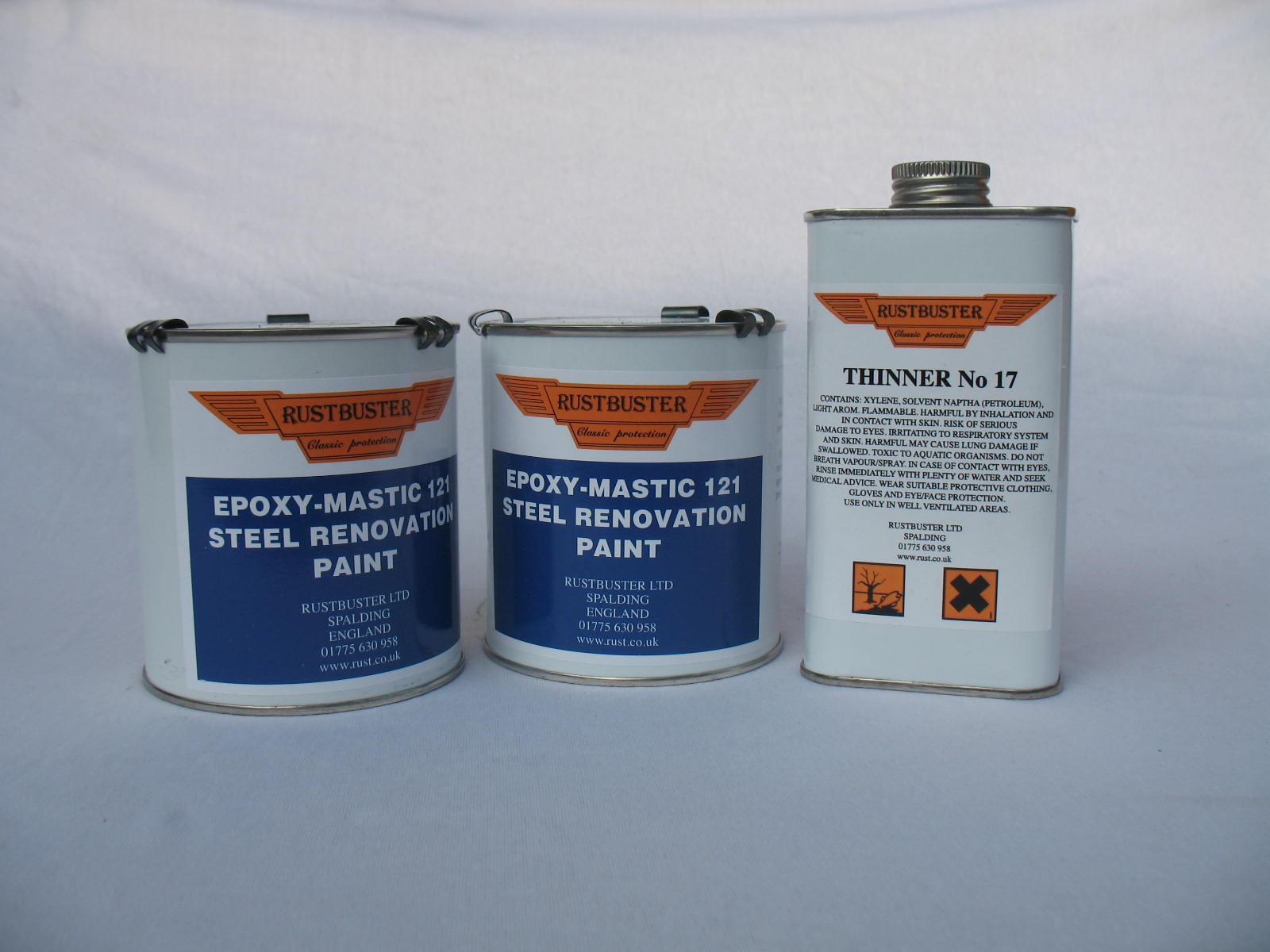 rb121 rustbuster epoxy mastic black 2l act performance